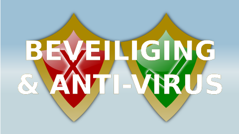 Digitaal in Vorm beveiliging en anti-virus
